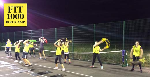 The Bulgarian Bag Spin at FIT1000 Bootcamp