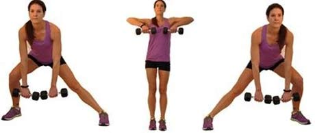 women-laterial-lunge-to-high-pull