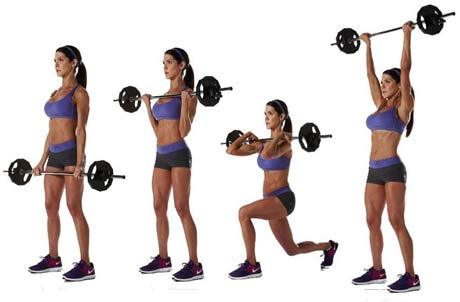 women-reverse-lunge-curl-to-press