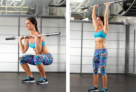 women-squat-press