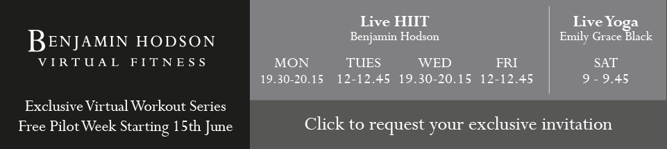 Benjamin Hodson Virtual Fitness - Click to for your exclusive invitation