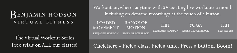 Benjamin Hodson Virtual Fitness - Click to Pick a time